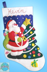 Design Works - Tree Trimming Stocking