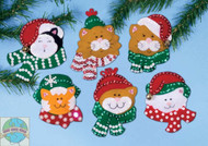 Design Works - Cats in Hats Ornaments (6)