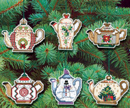 Janlynn - Christmas Teapot Ornaments (6)