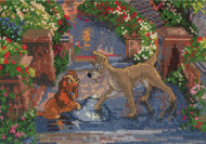 Kinkade / Disney Dreams - Lady and the Tramp