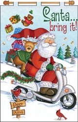 Design Works - Santa Bring It!