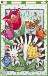 Design Works - Hello Spring Kitty