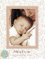 Dimensions - Peaceful Baby Birth Record - SALE!