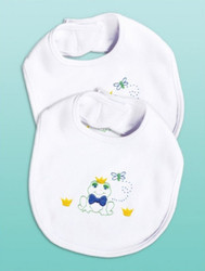 Design Works - Frog Bib Set