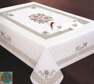 Design Works - Roses and Lace 4pc Napkin Set