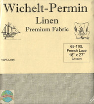 Wichelt - 32 Ct French Lace Linen 18 x 27 in