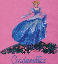 Kinkade / Disney - Cinderella (Waste Canvas Kit)