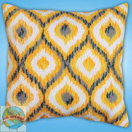 Design Works - Yellow Ikat