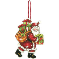 Dimensions - Santa with Bag Ornament