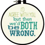 Dimensions 'Stitch Wits' - I'd Agree