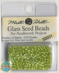 Mill Hill Glass Seed Beads 4.54g Citron