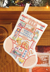 Janlynn - Baby Girl's First Christmas Stocking