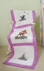 Kinkade / Disney - Bambi Quilt Blocks (6)