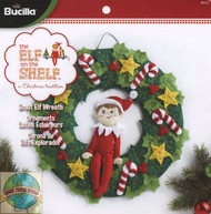 Plaid / Elf on the Shelf - Scout Elf Wreath