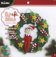 Plaid / Elf on the Shelf - Scout Elf Wreath