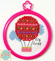 My 1st Stitch - Fly Free