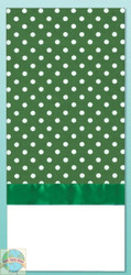 Design Works - Green Polka Dot Towel
