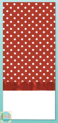 Design Works - Red Polka Dot Towel