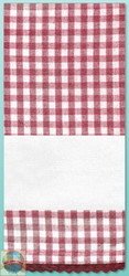 Design Works - Red Gingham Towel