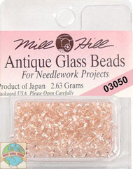 Mill Hill Antique Glass Beads 2.63g Champange Ice
