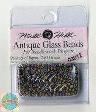 Mill Hill Antique Glass Beads 2.63g Autumn Heather
