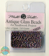 Mill Hill Antique Glass Beads 2.63g Claret