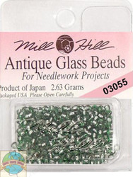 Mill Hill Antique Glass Beads 2.63g Bay Leaf