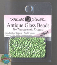 Mill Hill Antique Glass Beads 2.63g Satin Moss