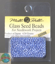 Mill Hill Glass Seed Beads 4.54g Ice Blue