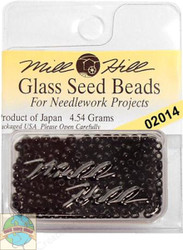 Mill Hill Glass Seed Beads 4.54g Black
