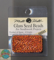 Mill Hill Glass Seed Beads 4g Brilliant Orange