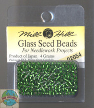 Mill Hill Glass Seed Beads 4g Brilliant Shamrock