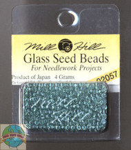 Mill Hill Glass Seed Beads 4g Crystal Sea
