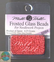 Mill Hill Frosted Glass Seed Beads 4.25g Tea Rose