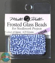 Mill Hill Frosted Glass Seed Beads 4.25g Pale Blue