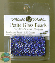 Mill Hill Petite Glass Beads 1.60g Royal Blue