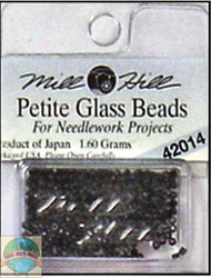 Mill Hill Petite Glass Beads 1.60g Black