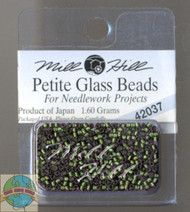 Mill Hill Petite Glass Beads 1.60g Green Velvet