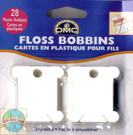 DMC - 28 Plastic Floss Bobbins