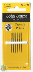John James - Size 22 Petite Needles
