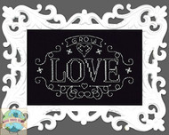 Design Works - Grow Love Chalkboard w/Frame