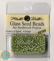 Mill Hill Glass Seed Beads 4g Grasshopper