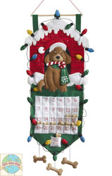 Plaid / Bucilla - Dog House Advent Calendar