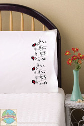 Design Works - Blackbirds Pillowcases (2)