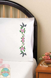 Design Works - Hummingbird Pillowcases (2)