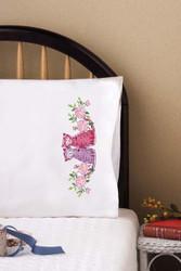 Design Works - Cat Couple Pillowcases (2)