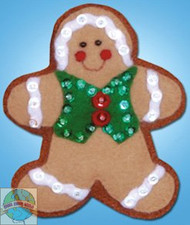 Design Works - Gingerbread Man Ornament