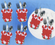 Design Works - Candy Cane Silverware Pockets SALE!