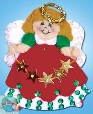 Design Works - Angel With Stars Ornament