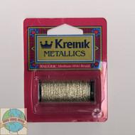 Kreinik Metallics - Medium #16 Vatican Gold 102